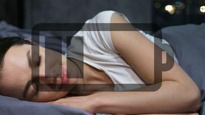schlaf aufladen