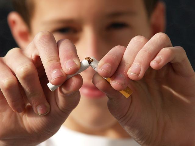 zigarette zerdrucken