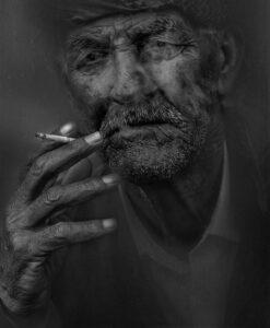 raucher mann