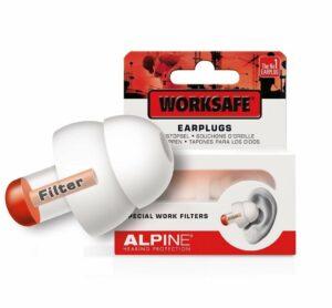 Wenn andere Geräusche das Schnarchen übertreffen, ist es Zeit für diese Ohrstöpsel Schnarchen: Alpine WorkSafe Gehörschutz