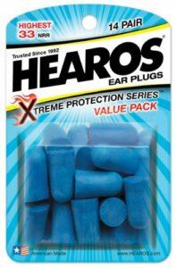 Schlafmangel ist dank diesen Ohrstöpsel Schnarchen von nun an Vergangenheit: Hearos Xtrem Protection