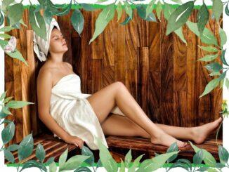 sauna frau