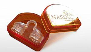 Gegen Schnarchen was tun mit dem Nasdil - komfortabler Nasenspreizer / Nasendilatator gegen Schnarchen und für verbesserte Nasenatmung
