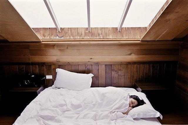 Schlafen im Holzhaus