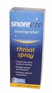 Snoreeze Rachenspray – Beliebtestes Spray gegen Schnarchen