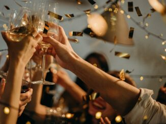 anstossen zum neujahr
