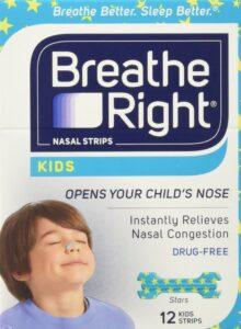 Nicht mehr Schnarchen bei Kindern mit Breath right Kids nasal Strips