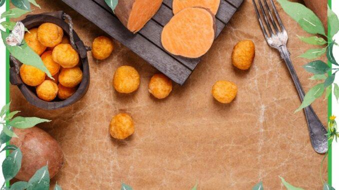 suesskartoffel krokette