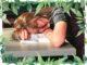 müdes Mädchen